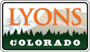 Town of Lyons Colorado logo