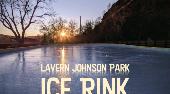 Ice Skating at LaVern Johnson Park
