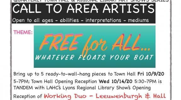 Town Hall & Library Art Show: Free for All